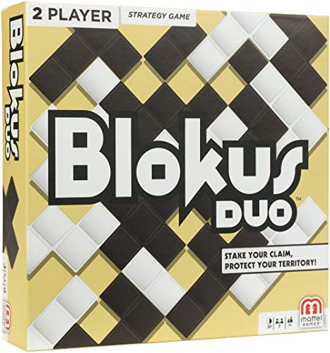 Blokus Duo Two Player Strategy Game Via Amazon