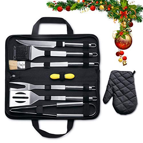 MARNUR BBQ Tools Barbecue Accessories Grilling Tools Set 7-Piece Via Amazon