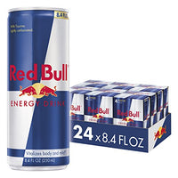 Red Bull Energy Drink 8.4 Fl Oz, 24 Pack (6 Packs of 4) Via Amazon