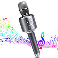 Wireless Bluetooth Karaoke Microphone Via Amazon