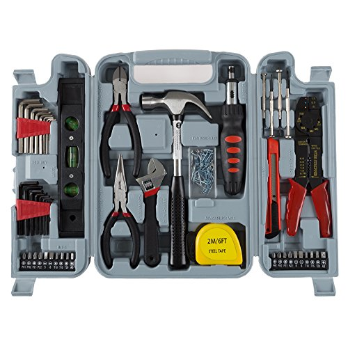 130 Piece Tool Set by Stalwart, Via Amazon