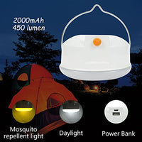 Rechargeable Emergency Camping Lamp Bug with Power Bank Via Amazon ONLY $4.80 Shipped! (Reg $9.79)