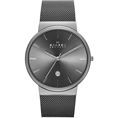 Skagen Men's Ancher Quartz Stainless Steel Via Amazon