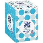 Wet Ones Antibacterial Hand Wipes Singles, Fresh Scent, 48 Count Via Amazon