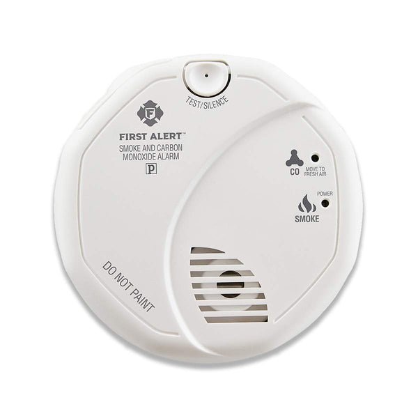 First Alert Smoke Detector and Carbon Monoxide Detector Alarm Via Amazon