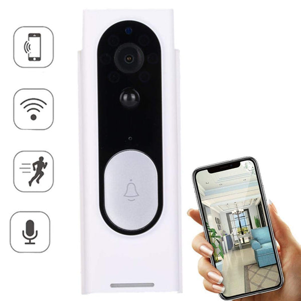 Smart Wireless WiFi Video Doorbell Via Amazon
