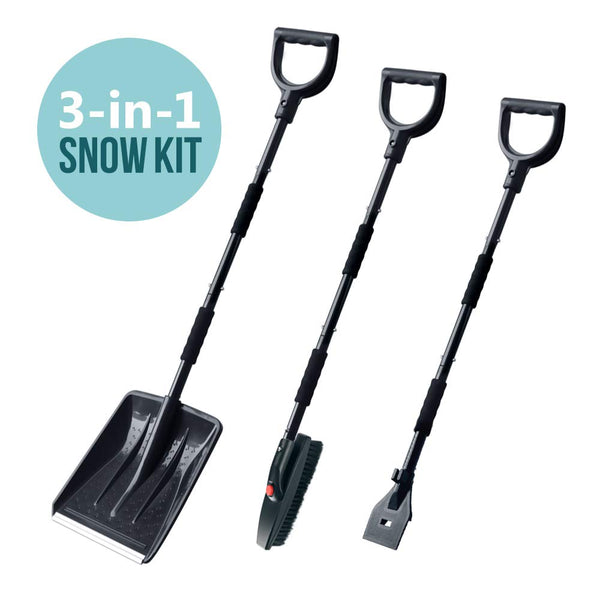3 Pcs Shovel Kit Via Amazon
