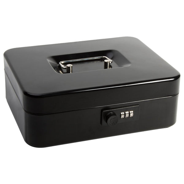Safe Cash Box With Combination Lock Via Amazon