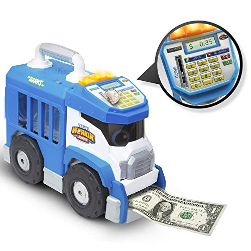 Real Workin' Buddies Mr. Banks, The Super Duper Money Saving Truck Via Amazon