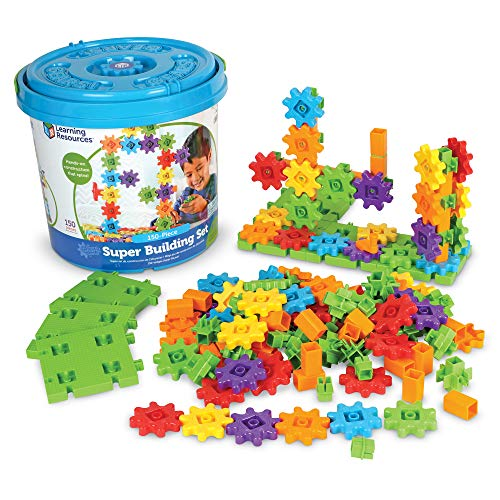 Learning Resources Gears! Gears! Gears! Super Building Toy Set, 150 Pieces Via Amazon