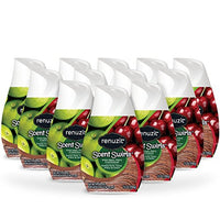 Renuzit Scent Swirls Air Freshener Gel, (12 Count) Via Amazon