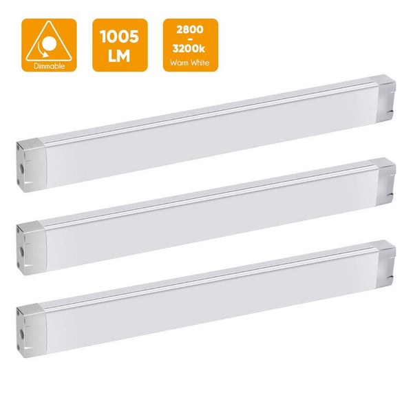 LED Under Cabinet Lights 3 Pack Via Amazon