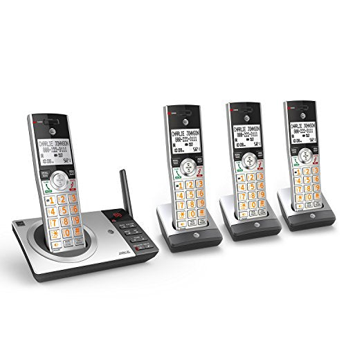 AT&T DECT 6.0 Expandable Cordless Phone with Answering System Via Amazon