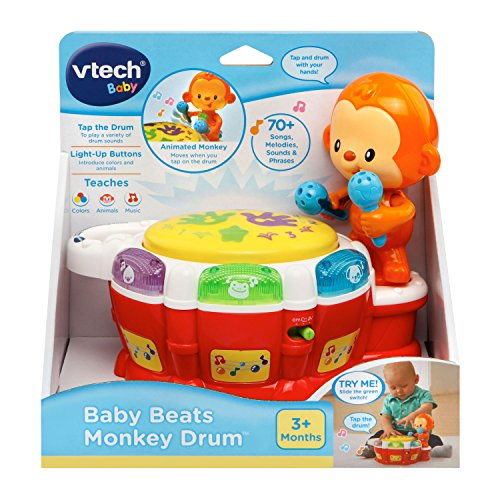 VTech Baby Beats Monkey Drum Via Amazon