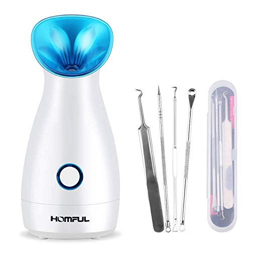 Face Spa Steamer Blackhead Remover Kit Via Amazon
