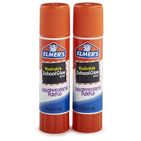 Elmer's Disappearing Purple School Glue Sticks, Pack of 2 Via Amazon