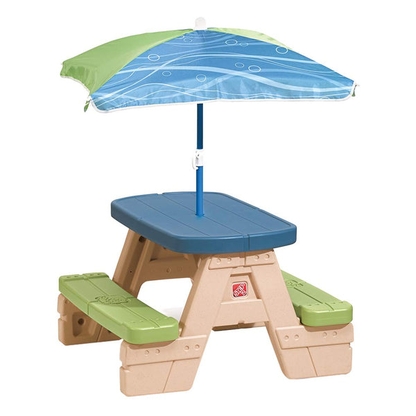Step2 Sit and Play Kids Picnic Table With Umbrella Via Amazon SALE $34.38 Shipped! (Reg 49.99)