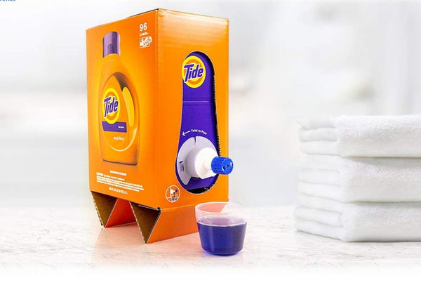 96 Loads Tide Laundry Detergent Liquid Eco-Box Via Amazon