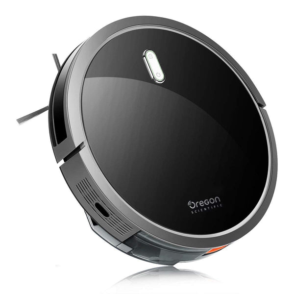 Oregon Scientific Robot Vacuum Cleaner with S-Shaped Smart Movement Via Amazon