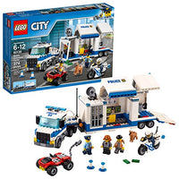 LEGO City Police Mobile Command Center Truckction Cop Motorbike Via Amazon