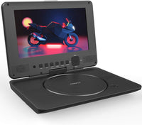 Portable DVD Player with HD Swivel Screen Via Amazon