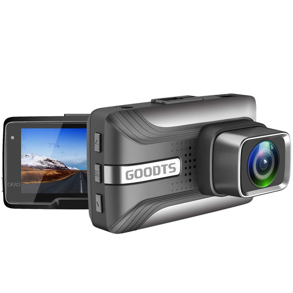 GOODTS Dash Cam Car Camera Recorder, Motion Detection Night Vision Via Amazon