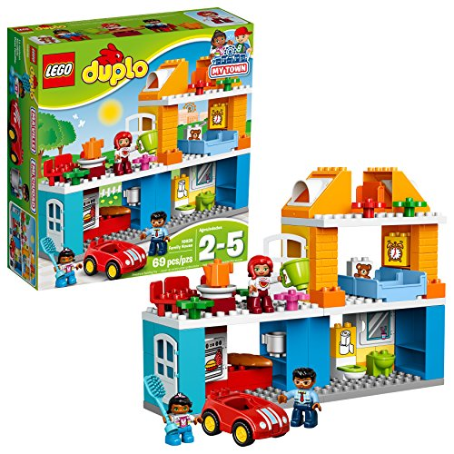 LEGO Duplo My Town Family House 10835 Building Block Toys Via Amazon