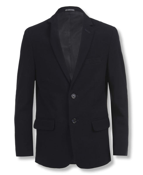 Calvin Klein Big Boys' Bi-Stretch Blazer, Navy Via Amazon