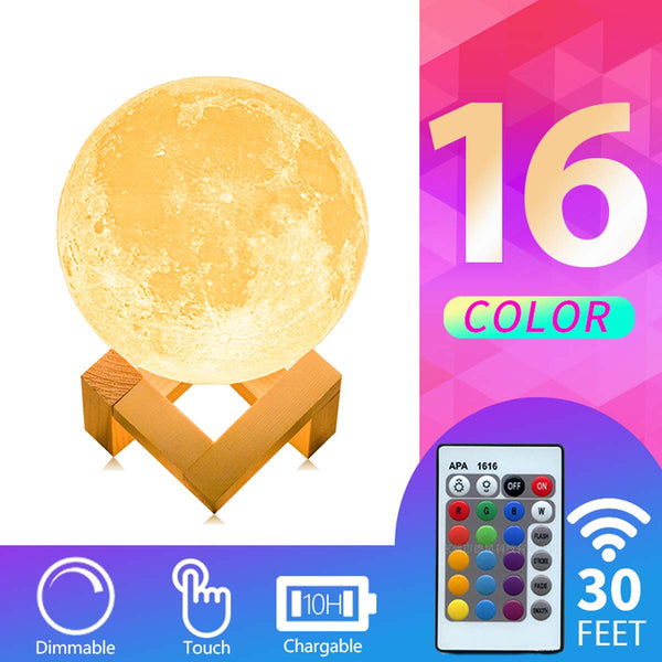 3D Print Moon Light with Stand Via Amazon SALE $9.99 Shipped! (Reg $19.99)