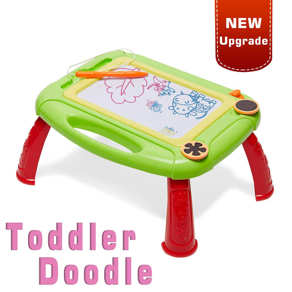 Kids Magnetic Doodle Board Table Via Amazon