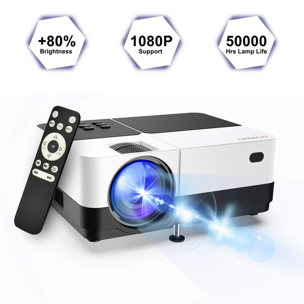 1080P Video Projector Via Amazon