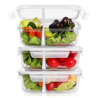 Glass Meal Prep Containers 36 Ounce 3-Pack Via Amazon SALE $10.80 Shipped! (Reg $26.99)