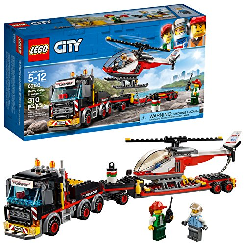 LEGO City Heavy Cargo Transport (310 Pieces) Via Amazon