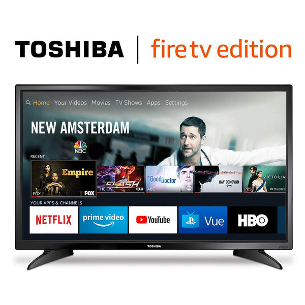 32-Inch Toshiba 720p HD Smart LED TV – Fire TV Edition Via Amazon