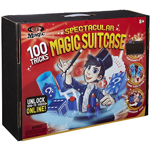 Ideal Magic Spectacular Magic Suitcase 100 Tricks Kids Magic Set Via Amazon
