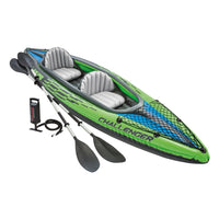 Intex Challenger K2 Kayak, 2-Person Inflatable Kayak Set Via Amazon ONLY $69.99 Shipped! (Reg $214)