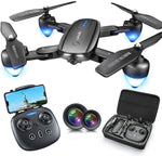Foldable Drone with 1080P HD Camera Via Amazon