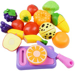 12 Pcs Play Food Set Via Amazon