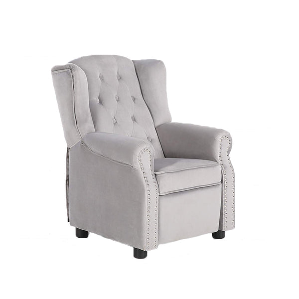 LCH Ergonomic Baby Tufted Recliner Chair Soft for Living Room Bedroom (Grey) Via Amazon ONLY $79.73 Shipped! (Reg $120)