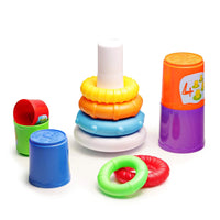 Toddlers 2 in 1 Stacking Cups and Stacking Ring Via Amazon SALE $4.00 Shipped! (Reg $9.99)