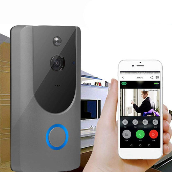 Wireless Visual Smart Doorbell Alarm WiFi Mobile Phone Remote Monitoring Kits Via Amazon