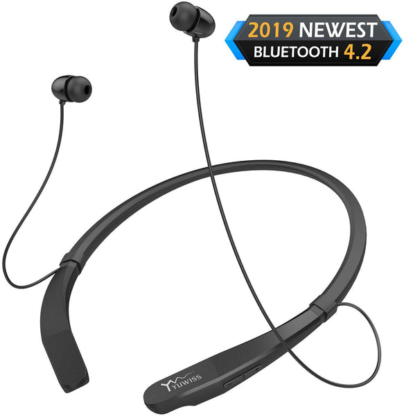 Bluetooth Headphones Neckband Via Amazon