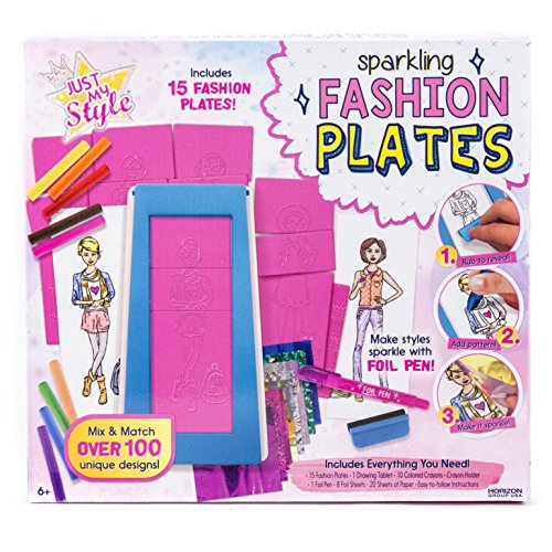 Just My Style Fashion Plates by Horizon Group USA Via Amazon
