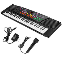 Costway 54 Keys Electronic Keyboard  W/Mic & Adapter Via Walmart