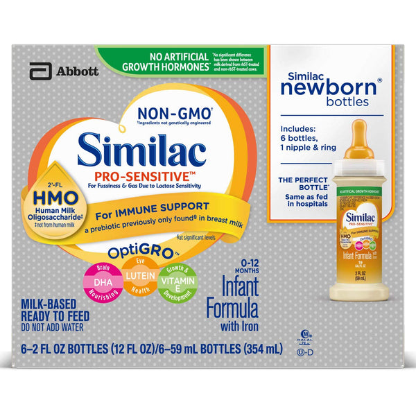 Similac Pro-Sensitive Non-GMO Infant Formula Via Amazon
