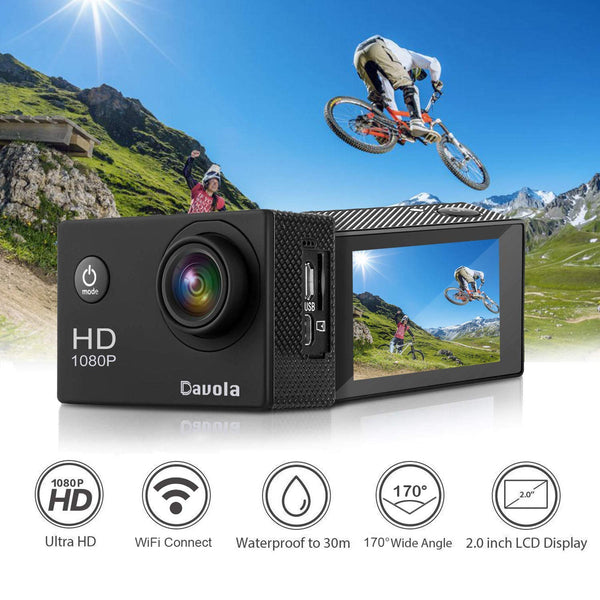 WiFi Sports Camera for $19.95 Shipped! (Reg. Price $39.90)