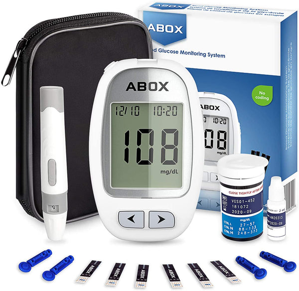Blood Glucose Monitoring Kit Via Amazon
