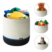 Woven Laundry Basket Via Amazon