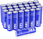 28 Count Alkaline AA Batteries Long Lasting Via Amazon