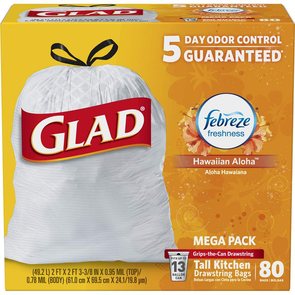 Save 35% On Glad OdorShield Trash Bags, Storage Bags Storage & Containers Via Amazon